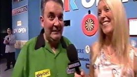 A Rather Awkward Darts Interview… – 2003 PDC UK Open