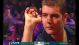 Adams vs Coote Darts World Championship 2002 Round 2