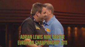 Adrian Lewis nine darter | European Championship 2011