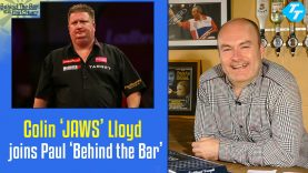 Colin 'Jaws' Lloyd joins Paul on this weeks 'Behind the Bar'