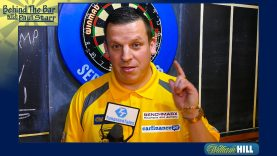 Dave Chisnall prior to his first round at the William Hill World Darts Championships
