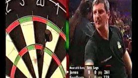 Fordham vs Jones Darts World Championship 2001 Round 2