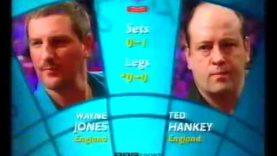 Hankey vs Jones Darts World Championship 2002 Round 2
