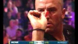 Mardle vs Monk Darts World Championship 2002 Quarter Final