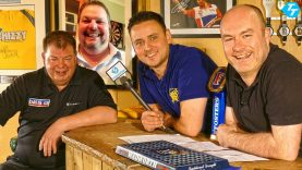 Mike Gregory, Steve Brown & Peter Manley join Paul 'Behind the Bar'