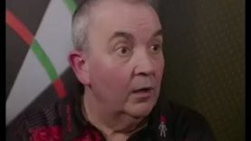Phil Taylor wanted his Water and his Respect Again! – 2017 PDC Grand Slam