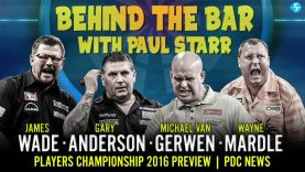 Players Championship Preview | Wade | Anderson | MvG | Mardle