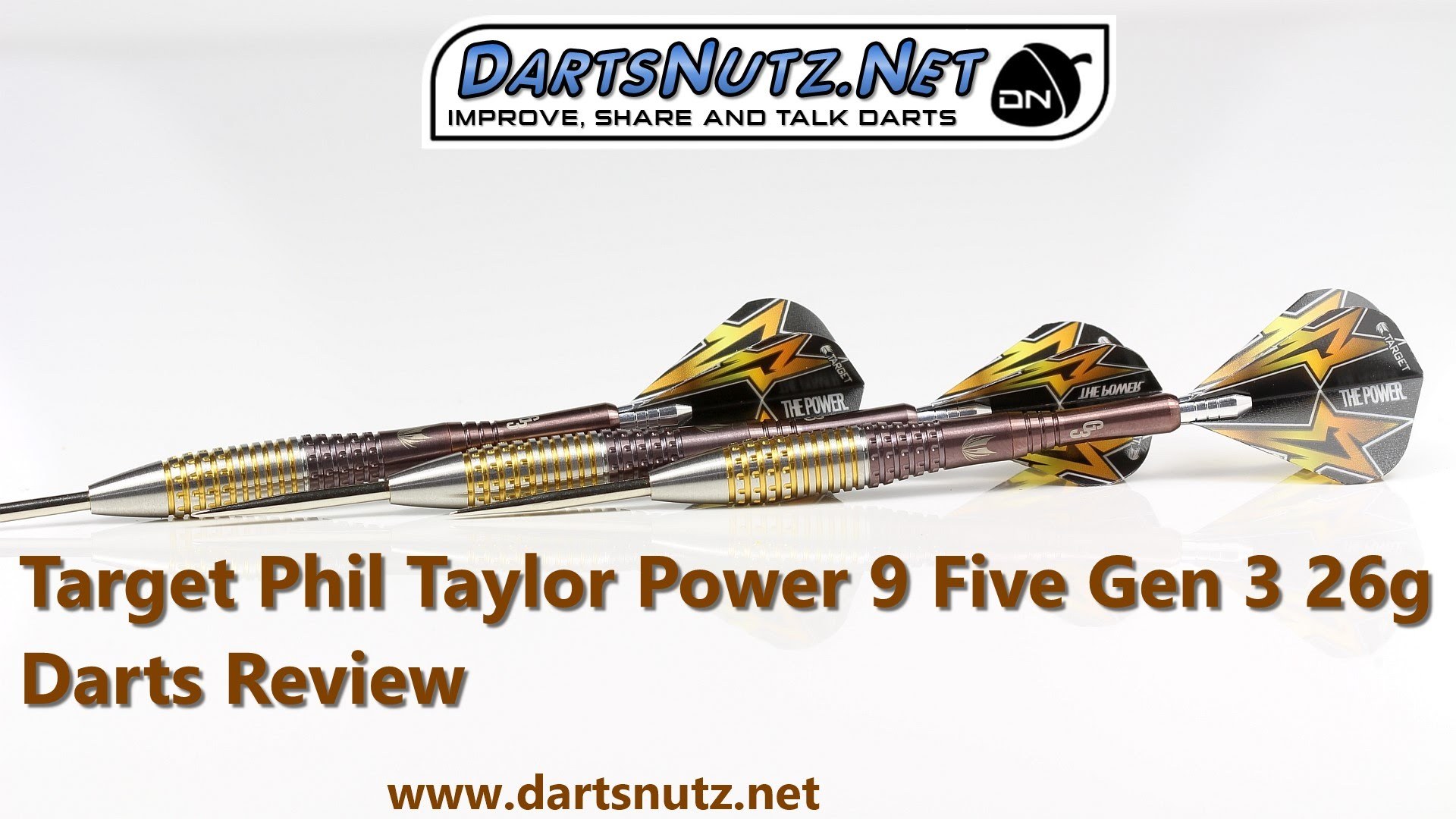68071c5b3aa Target Phil Taylor Power 9Five Gen 3 26g darts review – Darts Planet