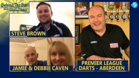 The Caven's & Steve Brown join Paul 'Behind the Bar'