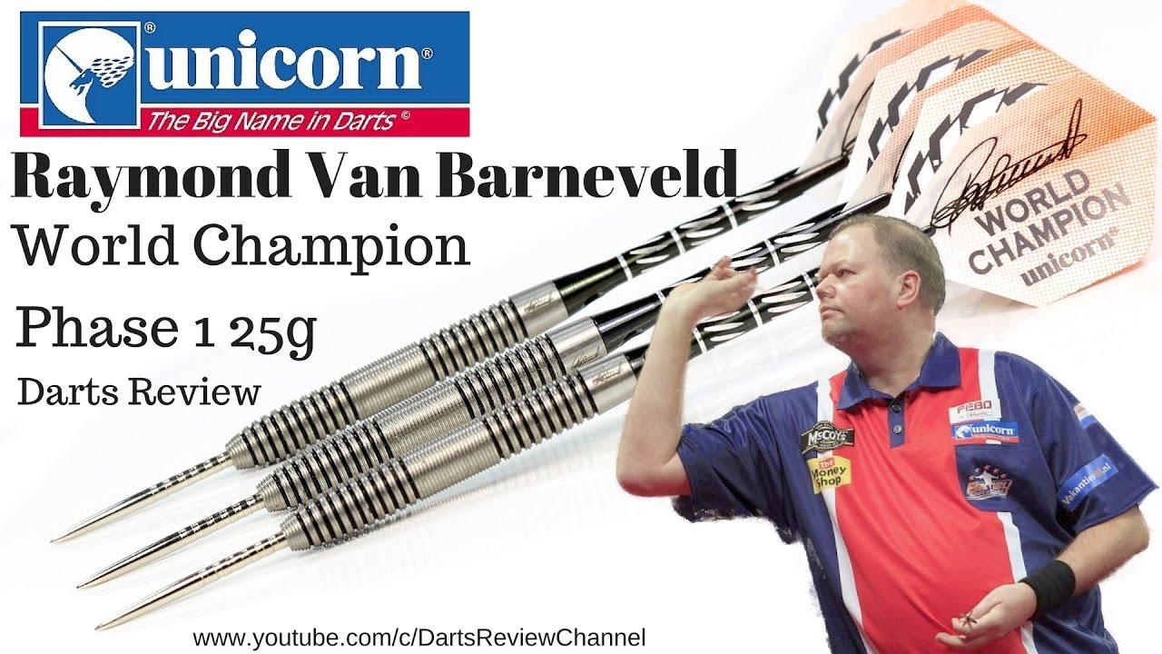Unicorn Raymond van Barneveld World Champion Phase 1 25g ...