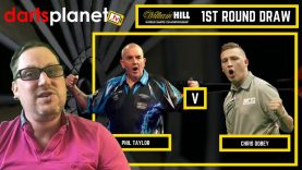WORLD DARTS CHAMPIONSHIP 1ST ROUND DRAW 2018 & STAND OUT MATCHES – WILLIAM HILL WORLD DARTS