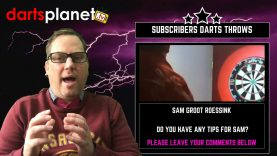 DARTS THROWS FROM DARTS PLANET TV SUBSCRIBERS – WATCH SAM'S, JOHNNY'S & CONNOR'S THROW IN ACTION