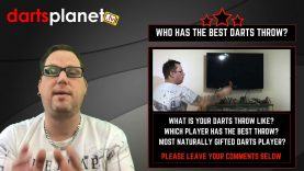 WHO HAS THE BEST DARTS PLAYERS THROW? – SEE MY THROW IN ACTION – WHAT IS YOUR THROW LIKE?
