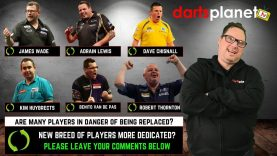 ARE MANY OF THE SEASONED PRO DART PLAYERS IN DANGER OF DROPPING OUT THE WORLDS ELITE 16 OR EVEN 32?