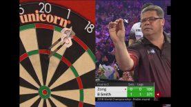Bernie Smith vs Xiao Chen Zong | Set 2 | Preliminary Round | 2018 World Darts Championship