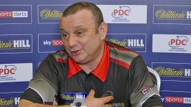 Darren Webster after a 4-1 Win over Simon Whitlock in Round 2 | World Darts Championship