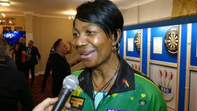 Deta Hedman Successfully through to the quarter final and plays either Sharon Prins or Maria O'Brien