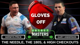 Gary Anderson V Gerwyn Price Unibet Masters 2018, The Needle, The 180s & The Checkouts
