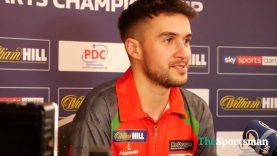 Jamie Lewis after Quarter Final Win | World Darts Championship 2018