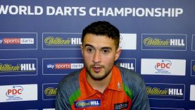 Jamie Lewis 'Today was all about carrying it on' | William Hill World Darts Championship