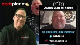 John Henderson Chats Darts With Darts Planet TV | Awesome Interview With Hendo | World Ranking 27