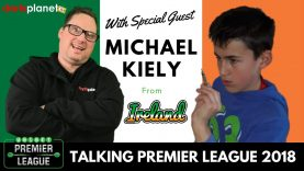 PREMIER LEAGUE CHAT WITH 12 YEAR OLD MICHAEL KIELY FROM IRELAND + HIS THOUGHTS ON PDC RANKINGS