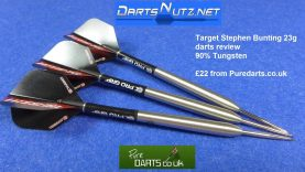 Stephen Bunting 23g darts review