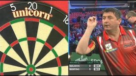 Suljovic v Bunting (R2) 2017 Players Championship Finals