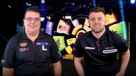 Willem Mandigers | Through to the second round after a 3-0 victory over Nick Kenny