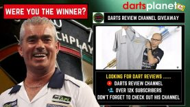 Winner Announced For The Steve Beaton Shirt & Win mau Darts Run By Darts Review Channel
