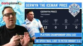 Gerwyn 'The Iceman' Price, His Stats, Premier League Campaign & 2018, Are You A Fan?