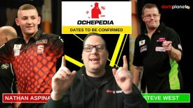 Nathan Aspinall, Steve West & Ochepedia's Christopher Kempf All To Feature On Darts Planet TV