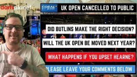 Don't Upster Barry Hearn – UK Open Cancelled To The Public