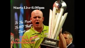 To The Point Live DartsCast