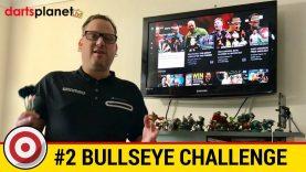 Bullseye Challenge On My New Winmau Blade 5 Dual Core Dartboard