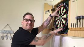Check Out My New Darts Setup – Winmau Blade 5 Dual Core Board