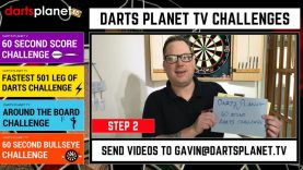 Danny Gall Scores 654 In The Darts Planet 60 Seconds Darts Score Challenge