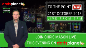 TO THE POINT LIVE FROM 7PM THIS EVENING ON
