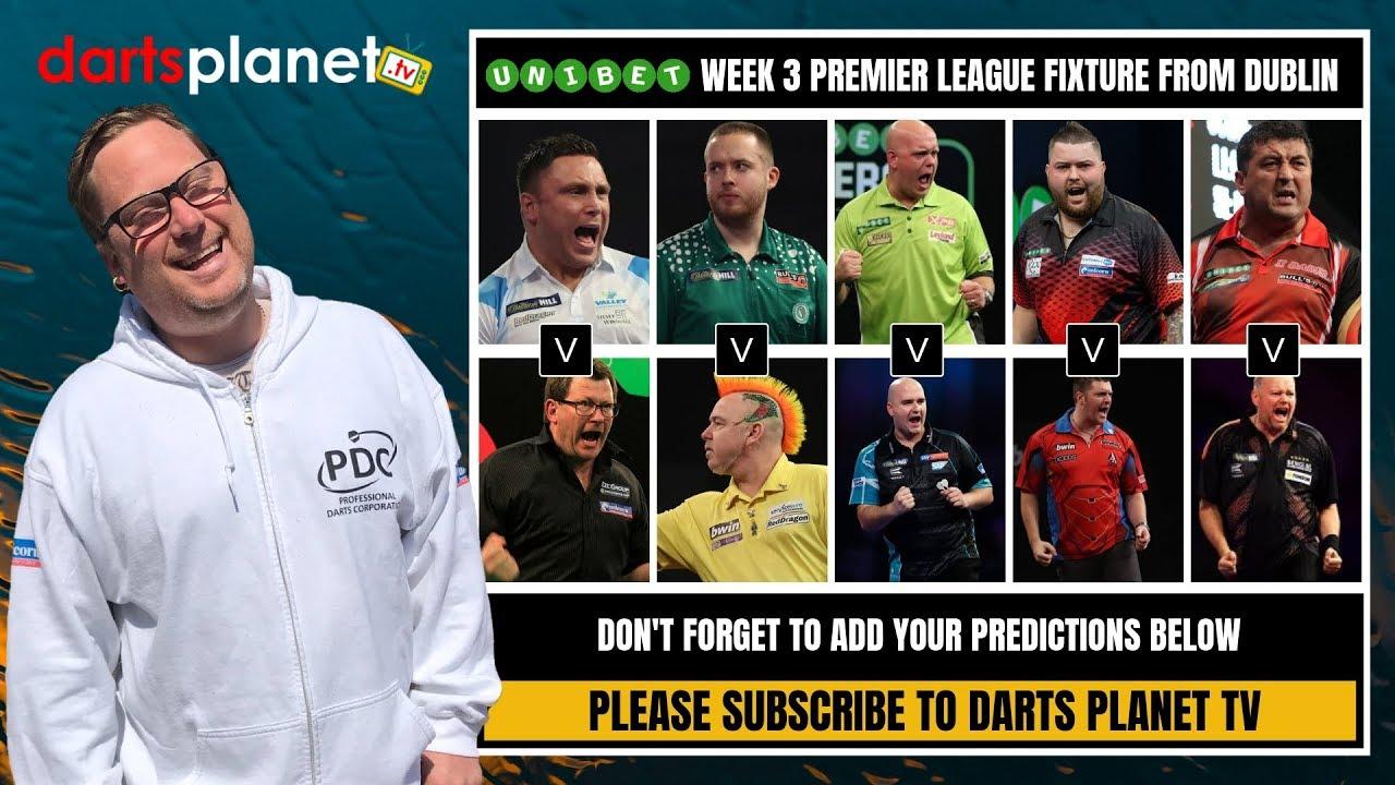 Dart premier league 2019 tv