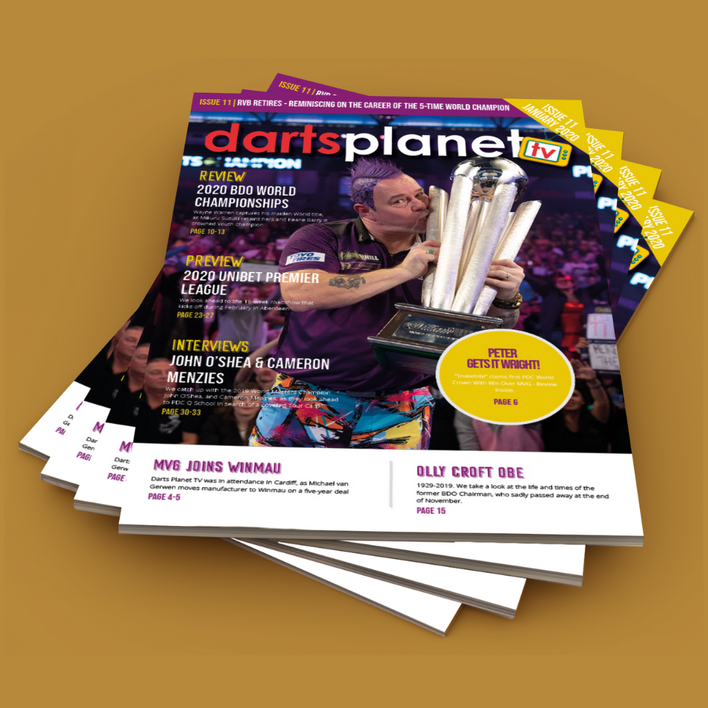 Monthly Darts Planet TV Magazine